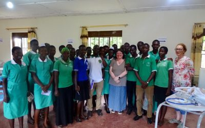 Nurses from the UK visit Uganda