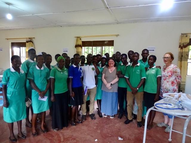 Nurses from the UK visit Uganda
